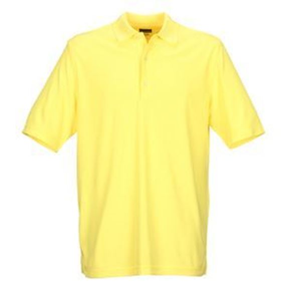 Picture of Greg Norman Golf Pro Series Polo Shirt - Core Yellow
