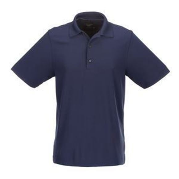 Picture of Greg Norman Golf Pro Series Polo Shirt - Navy