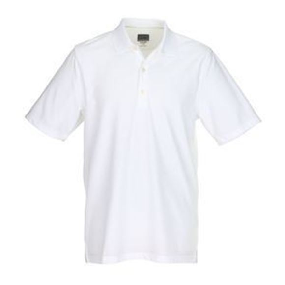Picture of Greg Norman Golf Pro Series Polo Shirt - White