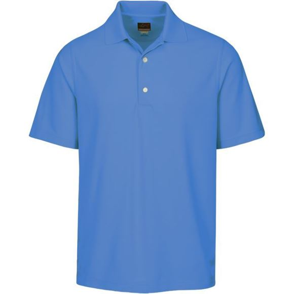 Picture of Greg Norman Golf Pro Series Polo Shirt - Caribbean Blue