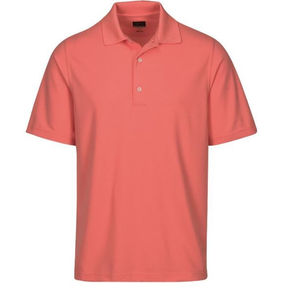 Picture of Greg Norman Golf Pro Series Polo Shirt - Coral Sun