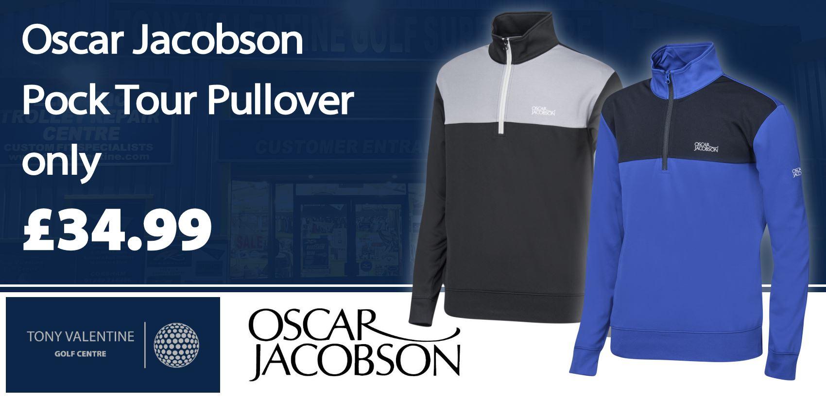 Oscar Jacobson Pock Tour Pullover