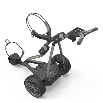 Picture of Powakaddy FW7s Electric Trolley 2018 with a FREE Travel Cover