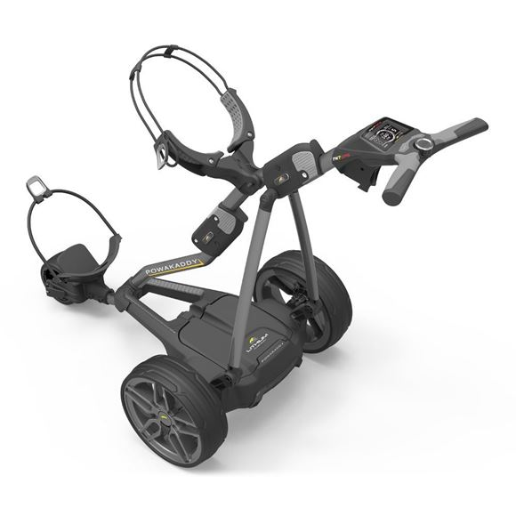Picture of Powakaddy FW7s GPS Electric Trolley 2018 with a FREE Travel Cover