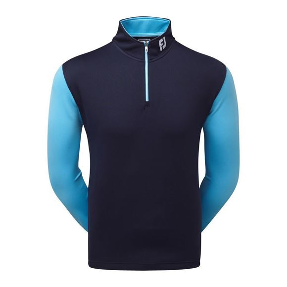 Picture of Footjoy Mens Double Layer Contrast Chill-Out Pullover - 92607
