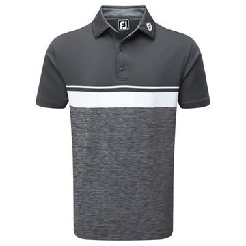 Picture of Footjoy Mens Lisle Colour Block Polo Shirt - 92468
