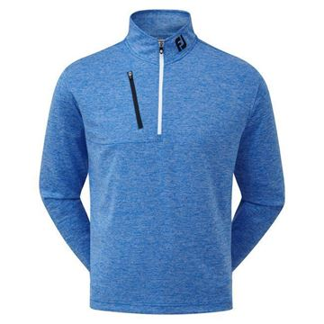 Picture of Footjoy Mens Heather Pinstripe Chill-Out Pullover - 92480