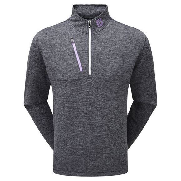 Picture of Footjoy Mens Heather Pinstripe ChillOut Pullover - 92478
