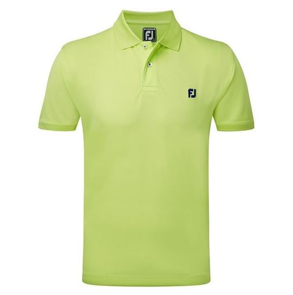 Picture of Footjoy Mens Stretch Pique Polo Shirt with Chest Logo - 92115