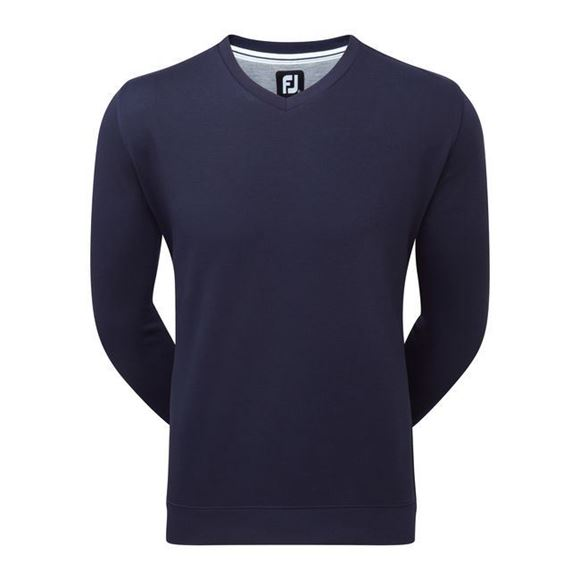 Picture of Footjoy Mens Spun Poly V-Neck Sweater - 92172