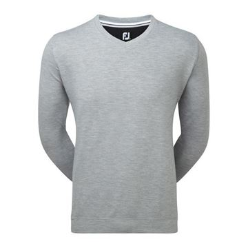 Picture of Footjoy Mens Spun Poly V-Neck Sweater - 92175