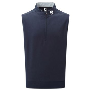 Picture of Footjoy Mens Spun Poly Half-Zip Vest - 92587