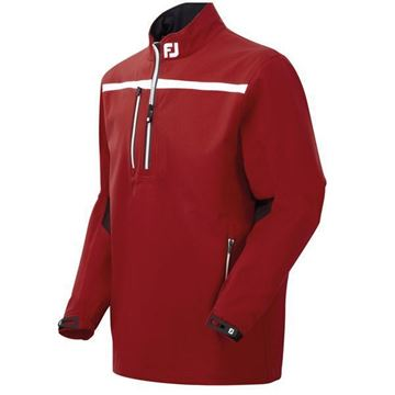 Picture of Footjoy Mens DryJoys Tour XP Rain Shirt Jacket - Red
