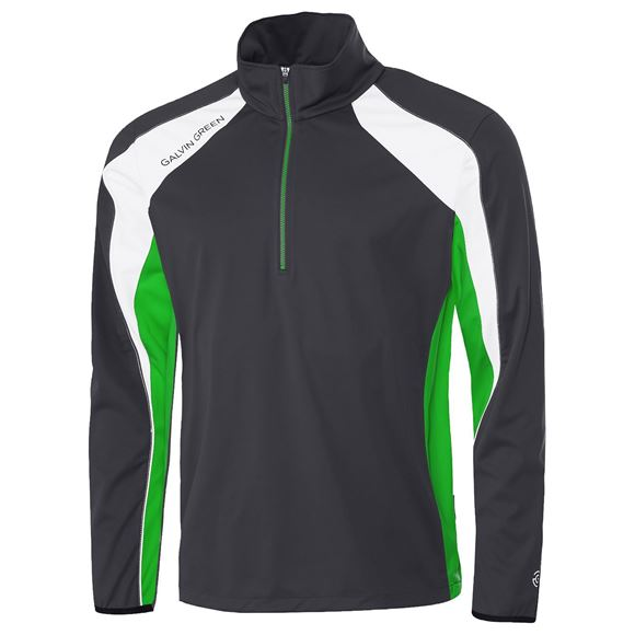 Picture of Galvin Green Mens Lennox Interface Jacket - Iron/White/Green