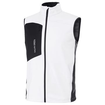 Picture of Galvin Green Mens Lenny Interface Vest - White/Black