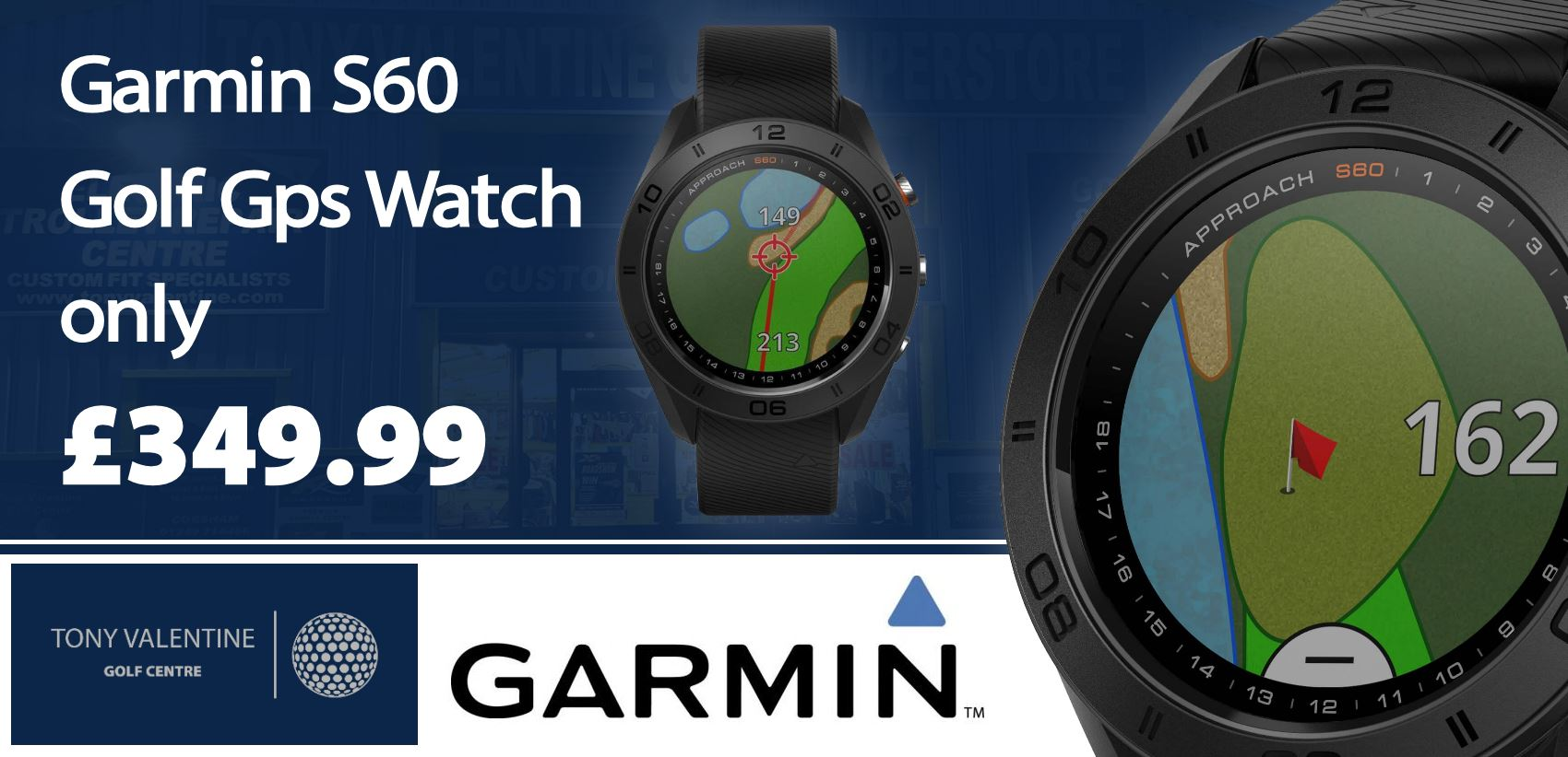 Garmin S60 Watch