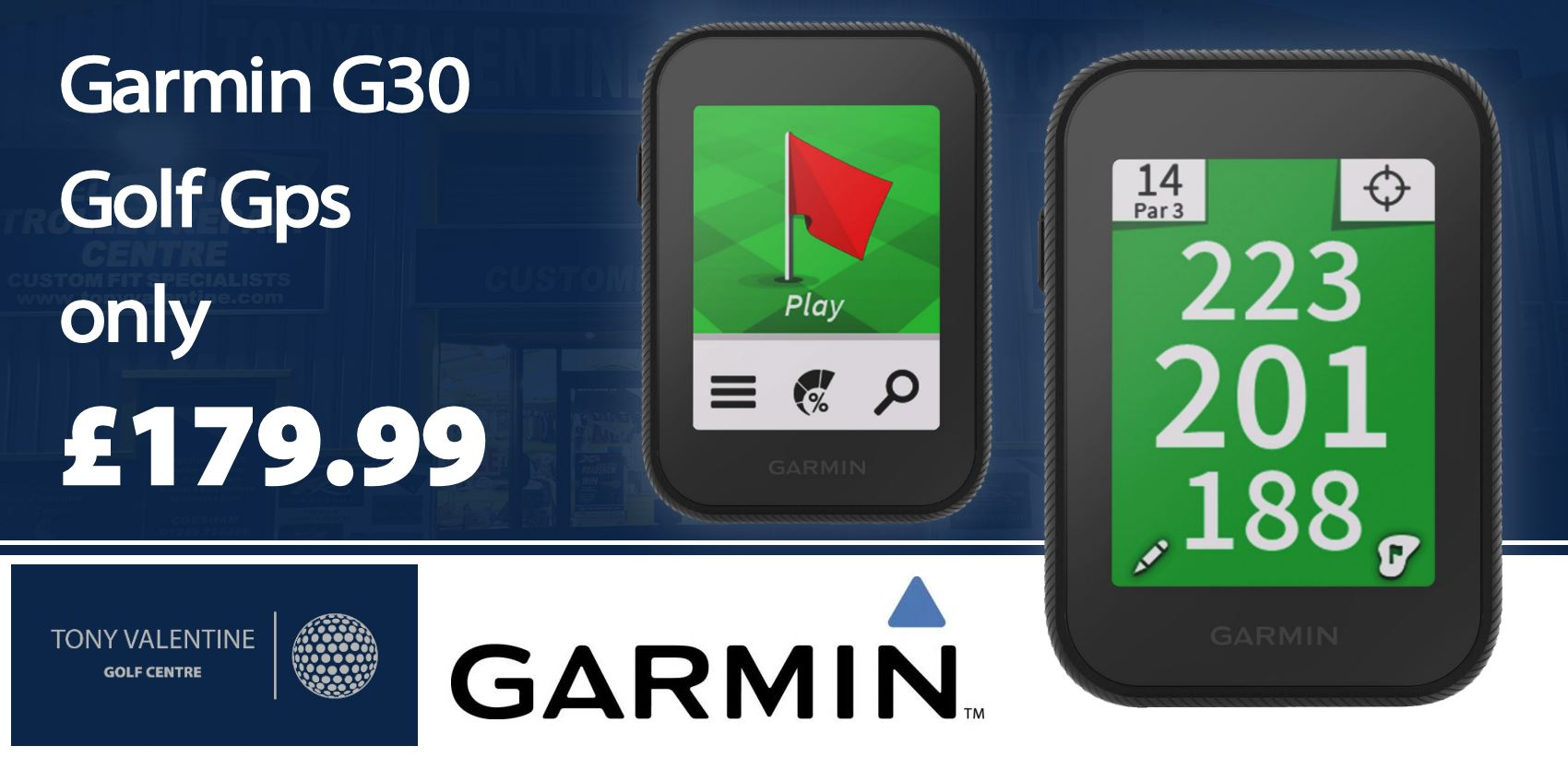 Garmin G30 Golf Gps