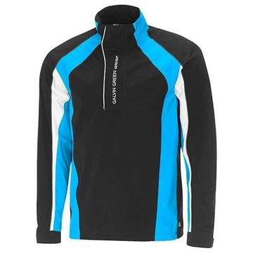 Picture of Galvin Green Mens Addison Waterproof Jacket - Black/Ocean