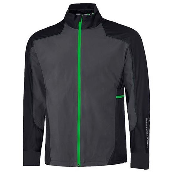 Picture of Galvin Green Mens Alon Waterproof Jacket - Grey/Black/Green