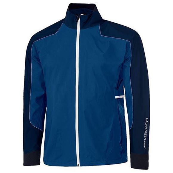 Picture of Galvin Green Mens Alon Waterproof Jacket - Blue/White