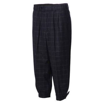 Picture of JRB Golf Plus Two Trousers - Navy Check