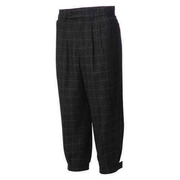Picture of JRB Golf Plus Two Trousers - Black Check
