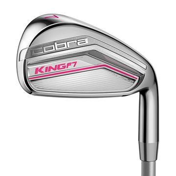 Picture of Cobra Ladies King F7 Irons - Pink