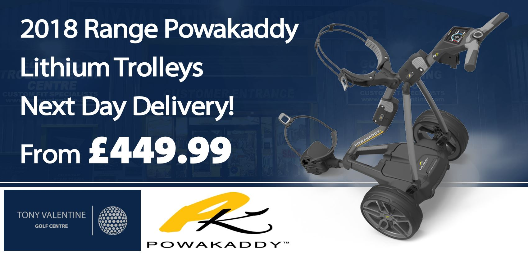 Powakaddy Trolleys