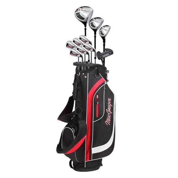 Picture of MacGregor CG200 Package Set - Mens - 10 Clubs - Steel/Graphite
