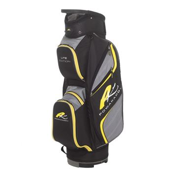 Picture of Powakaddy Lite Edition Cart Bag 2018 - Black/Gun/Yellow