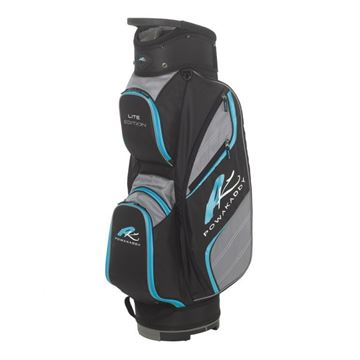 Picture of Powakaddy Lite Edition Cart Bag 2018 - Black/Gunmetal/Aqua