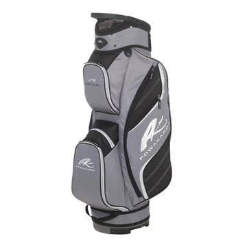 Picture of Powakaddy Lite Edition Cart Bag 2018 - Black/Gunmetal/Silver