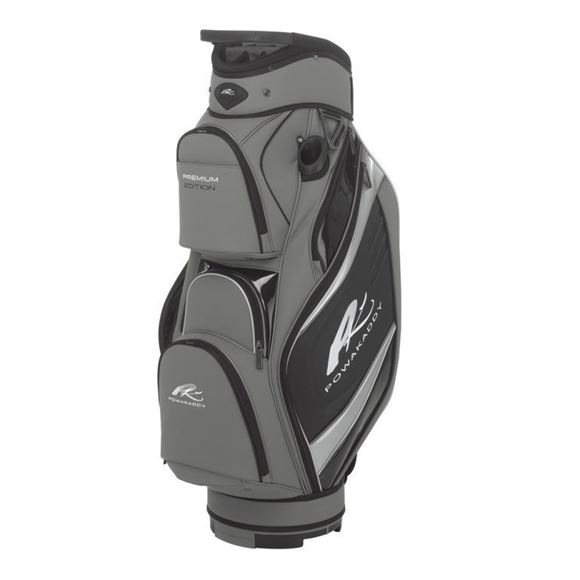 Picture of Powakaddy Premium Edition Cart Bag 2018 - Gunmetal/Black/Silver
