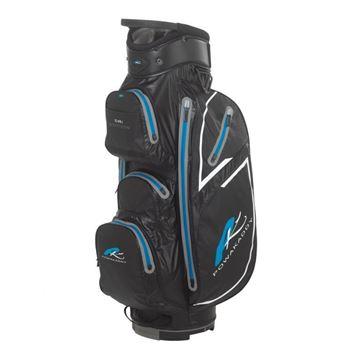 Picture of Powakaddy Dri Edition Waterproof Cart Bag 2018 - Black/Blue