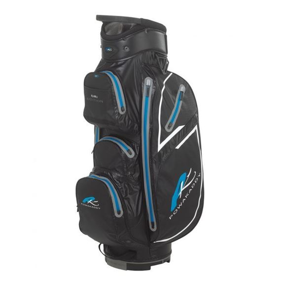 Picture of Powakaddy Dri Edition Waterproof Cart Bag 2018 - Black/Blue