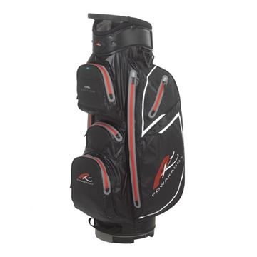 Picture of Powakaddy Dri Edition Waterproof Cart Bag 2018 - Black/Red