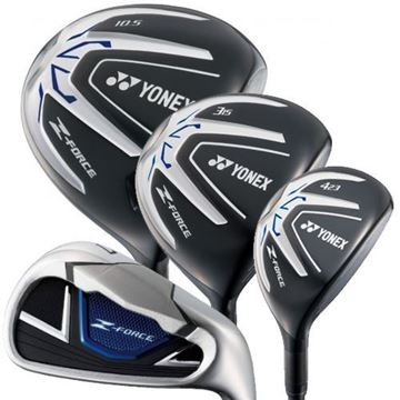 Picture of Yonex Z Force Bundle - Driver, Wood, Hybrid and Irons (10 Clubs)