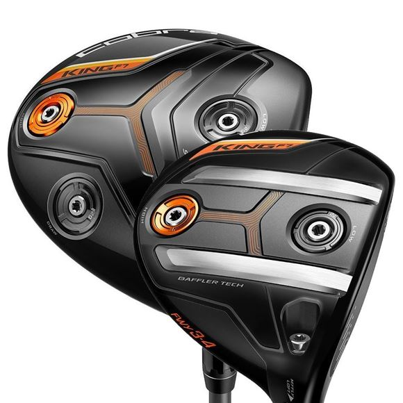 Picture of Cobra King F7 Driver and 3-4 Fairway Wood Bundle (2 Clubs)