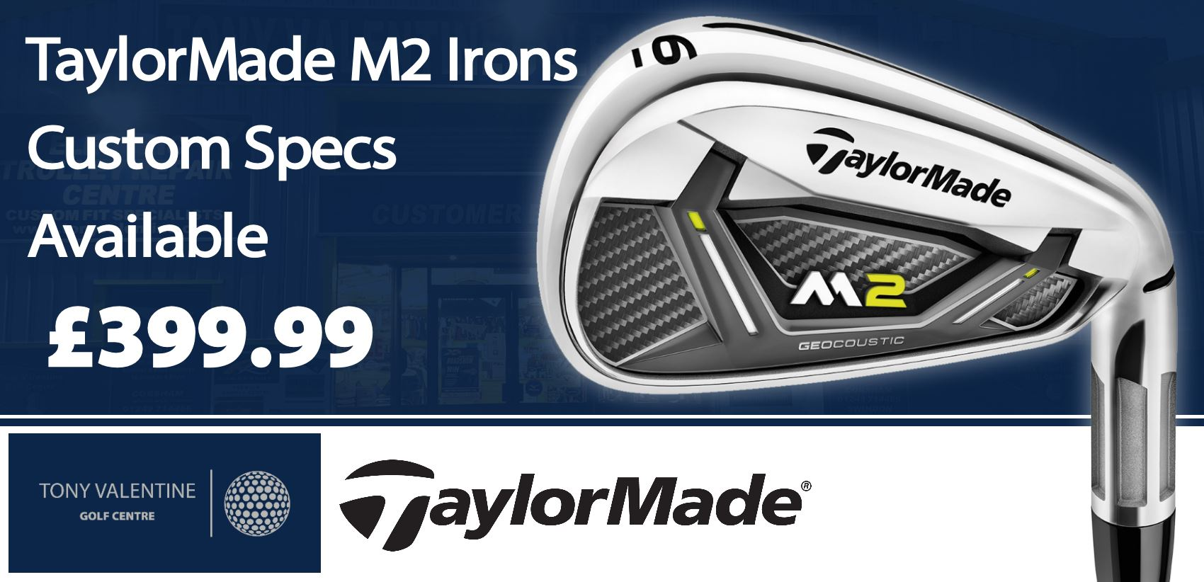 TaylorMade M2 Custom Irons