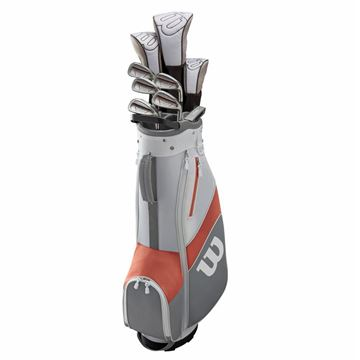 Picture of Wilson 1200 TPX Package Set - Ladies - 9 Clubs *NEXT DAY DELIVERY*