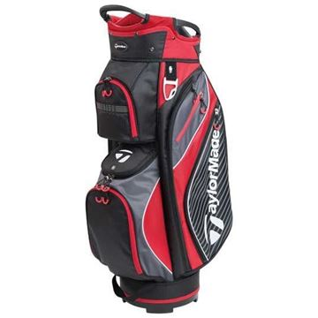 Picture of TaylorMade TM18 Pro 6.0 Cart Bag - Black/Red