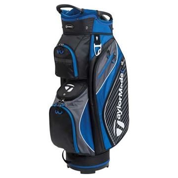 Picture of TaylorMade TM18 Pro 6.0 Cart Bag - Black/Blue