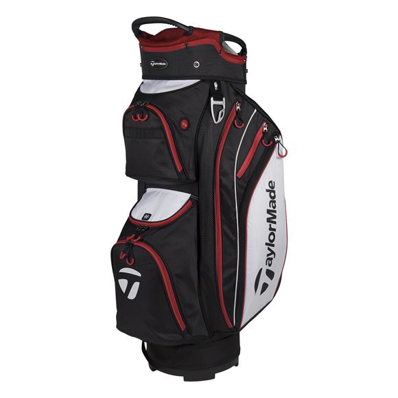Picture of TaylorMade TM18 Cart Lite Bag - Black/Red
