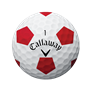 Picture of Callaway Chrome Soft Truvis Golf Balls 2018 White/Red