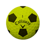 Picture of Callaway Chrome Soft Truvis Golf Balls 2018 Black/Yellow
