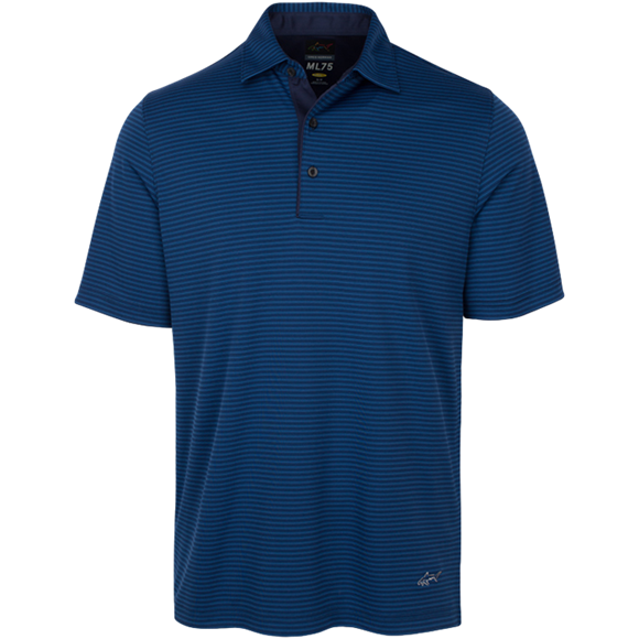 Picture of Greg Norman Technical Performance Polo Shirt - Navy