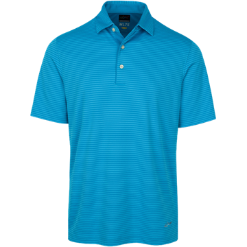 Picture of Greg Norman Technical Performance Polo Shirt - Aqua