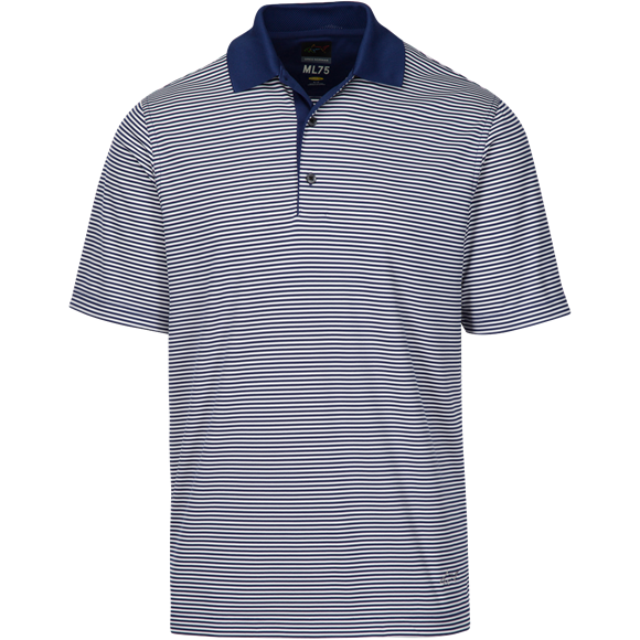 Picture of Greg Norman Technical Performance Polo Shirt - Navy KX59