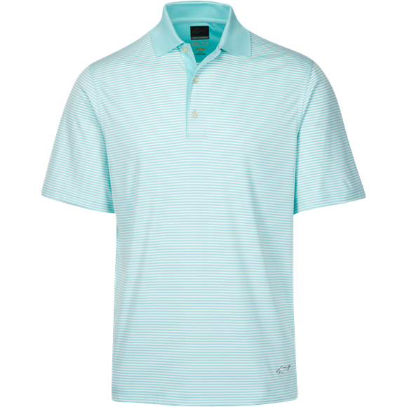 Picture of Greg Norman Technical Performance Polo Shirt - Seaglass KX59