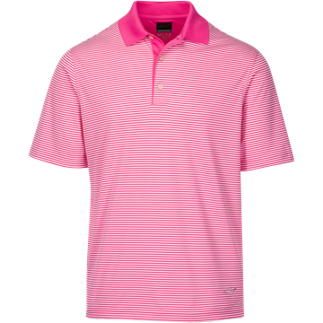 Picture of Greg Norman Technical Performance Polo Shirt - Pink Isles KX59